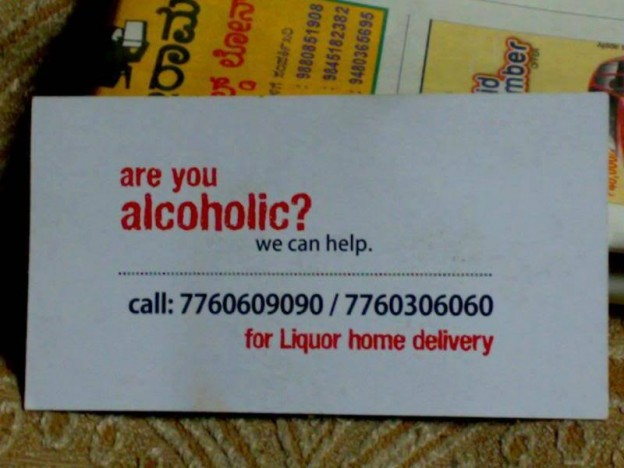Are you alcoholic? We can help! (funny)