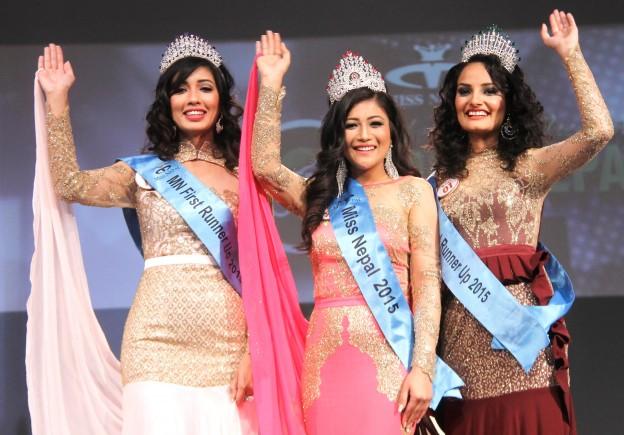 Miss Nepal 2015 Evana Manandhar
