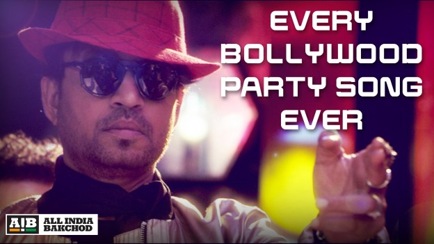 AIB : Every Bollywood Party Song feat. Irrfan