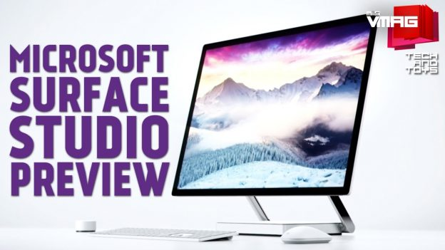 TECH & TOYS: Microsoft Surface Studio Preview